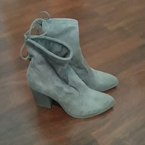 Dolce vita gray booties